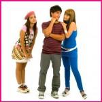 Isa, Alex e Cristina